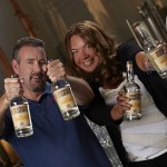 Brant and Krista - and of course, Busted Barrel Rum!
