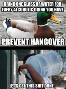 Hangovers prevented